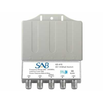 SAB 4/1 DISEqC Switch (K032)