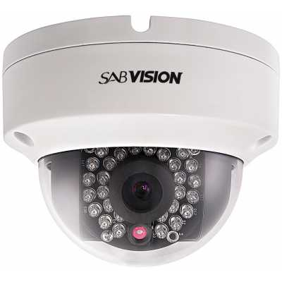 SABVISION 2200 4MP 2.5K QHD Fixed Dome IP Kamera (P202)